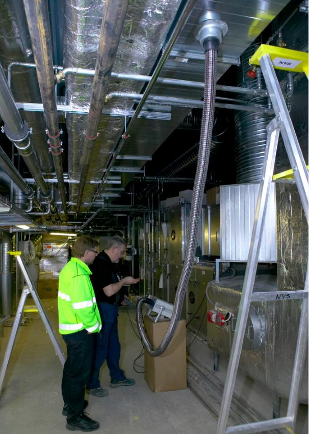 Аэродинамические испытания систем вентиляции в квартире